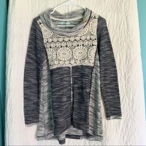 Maurices Size Small Cowl Neck Sweater